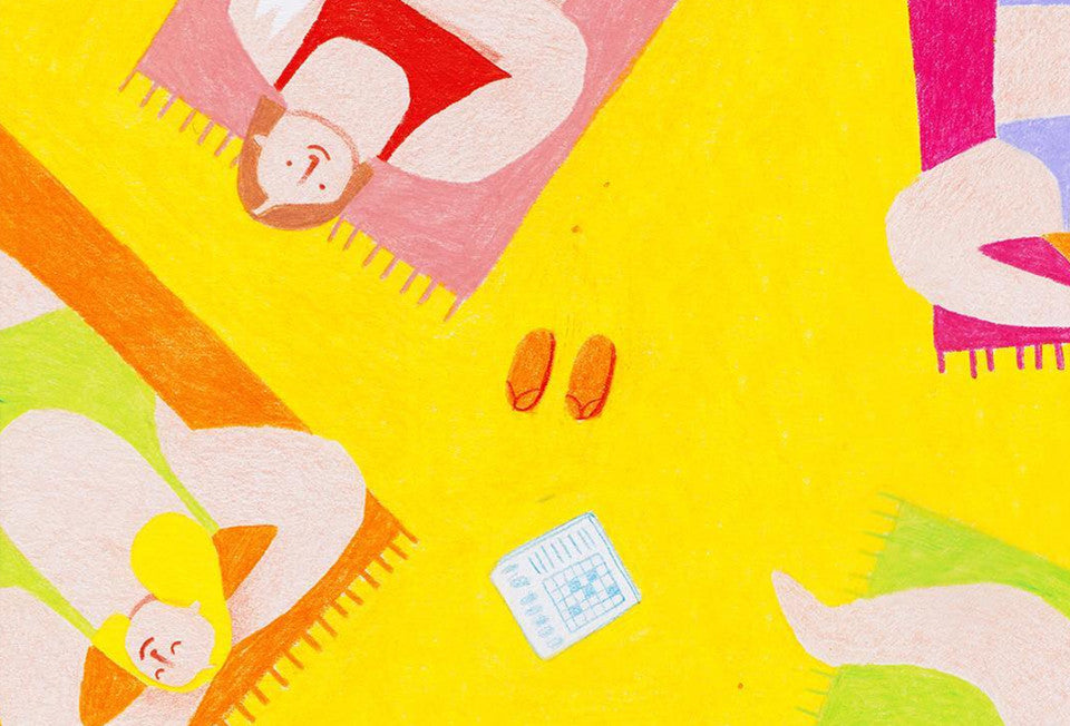 We want to live in Eleonora Arosio's bright and cheeky coloured-pencil rendered world