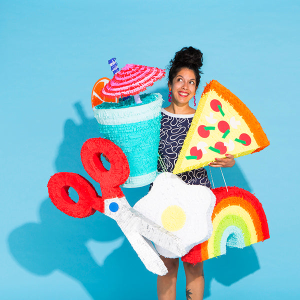 Kitiya Palaskas is hands down the queen of Piñata's and all things craft