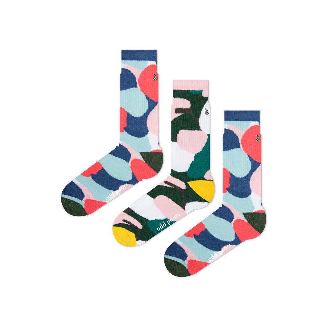 bright colourful cool socks