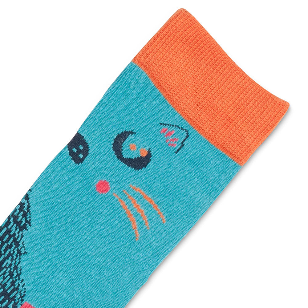 cat rabbit socks