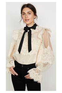 Annabelle Frill Blouse