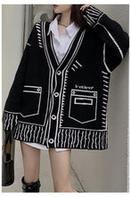 Load image into Gallery viewer, Veti Cardigan - Black