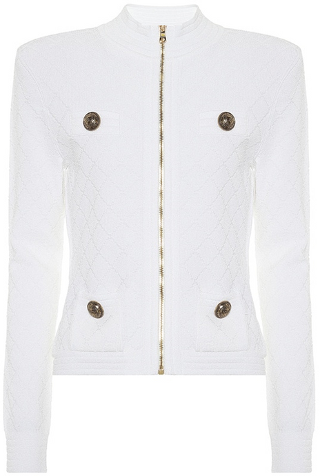 Grace Zip Cardigan