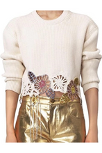 Load image into Gallery viewer, Chrissie Embellished Sweater