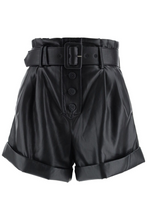 Load image into Gallery viewer, Colton Leather Shorts