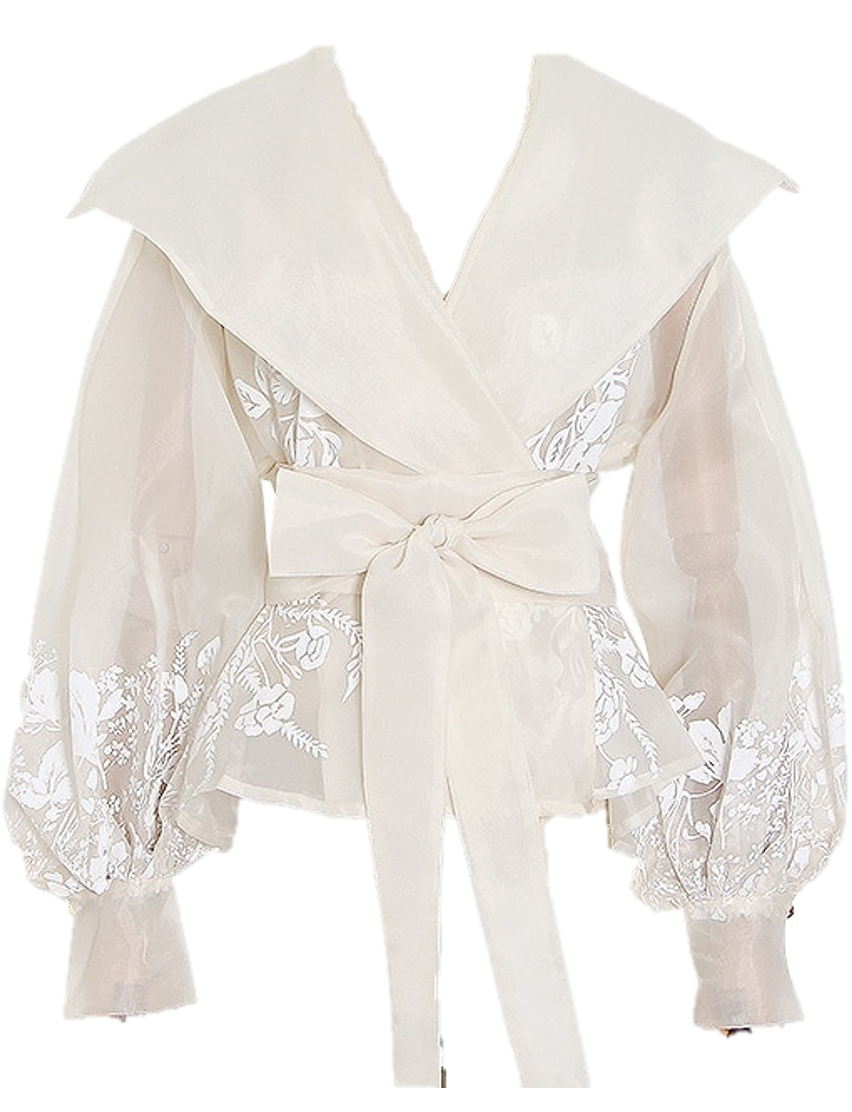 Manet Wrap Blouse