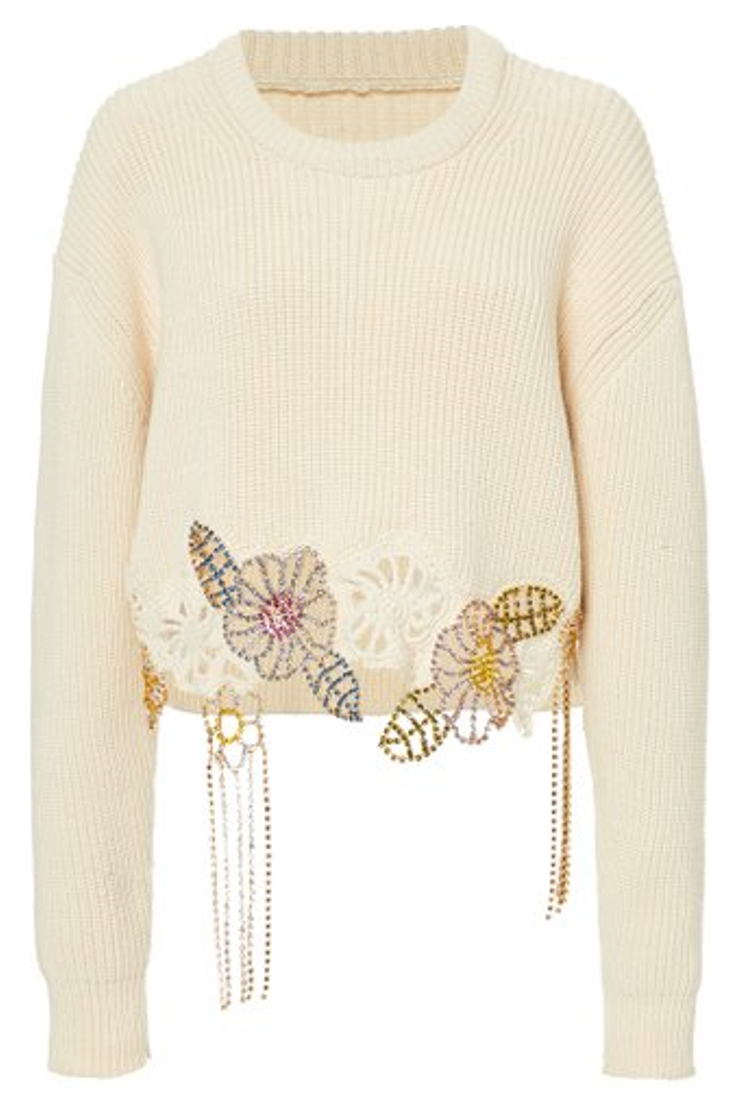 Chrissie Embellished Sweater