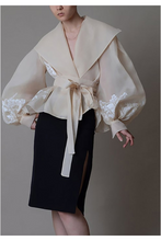Load image into Gallery viewer, Manet Wrap Blouse