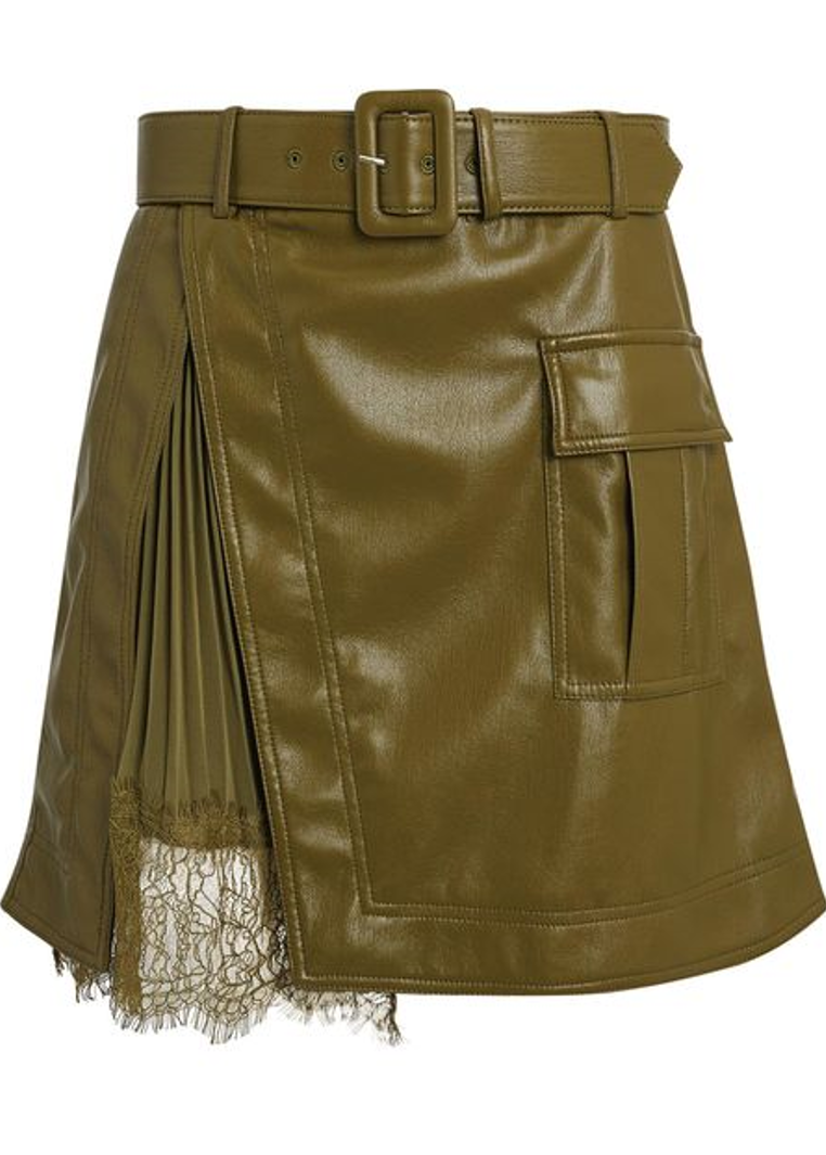 Kirra Leather Skirt