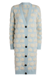Sheep Oversized Cardigan