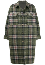 Load image into Gallery viewer, Kelsey Plaid Jacket - Green