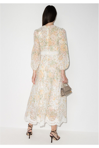Borgo Embroidered Midi