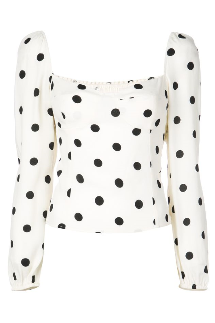 Tammy Polka Dot Top