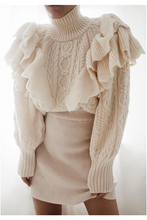Load image into Gallery viewer, Seine Ruffle Sweater