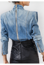 Load image into Gallery viewer, Daphine Denim Top