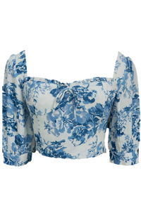 Cerena Floral Crop Top