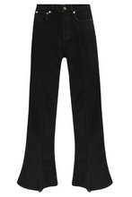 Load image into Gallery viewer, Flared Jeans - Black