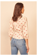 Load image into Gallery viewer, Holli Polka Dot Top