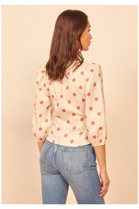 Holli Polka Dot Top