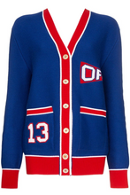 Load image into Gallery viewer, Varsity Cardigan