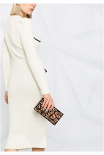 Load image into Gallery viewer, Alessandra Crystal Embellished Midi Knit