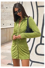 Load image into Gallery viewer, Maddy Dress - Green