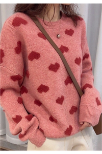 Amour Sweater - Pink