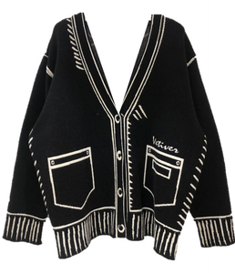 Veti Cardigan - Black