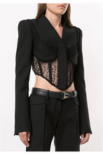 Load image into Gallery viewer, Tarant Corset Blazer