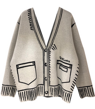 Load image into Gallery viewer, Veti Cardigan - Grey