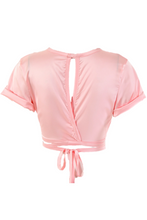 Load image into Gallery viewer, Tammy Cropped Top - Pink
