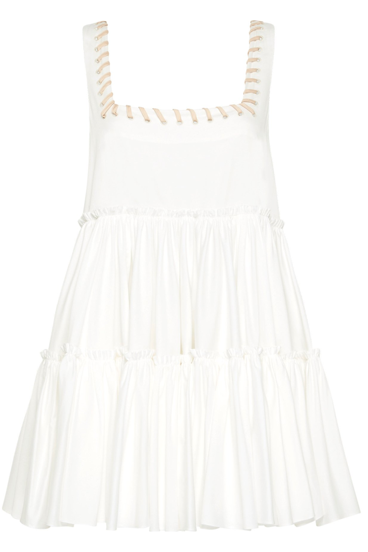 Roxanya Mini - White