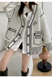 Veti Cardigan - Grey