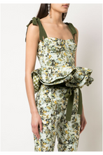 Load image into Gallery viewer, Jada Peplum Top - Floral
