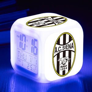 2.Bundesliga / Serie B Football League LED Colorful Alarm Clock