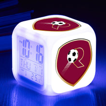 Load image into Gallery viewer, 2.Bundesliga / Serie B Football League LED Colorful Alarm Clock
