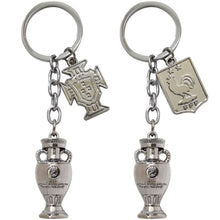 Load image into Gallery viewer, [New release] UEFA Nations League  Mini Trophy Keychain Fan Souvenirs