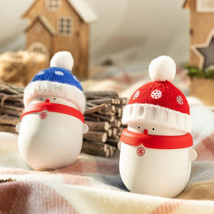 Christmas Snowman Portable Hand Warmer Power Bank