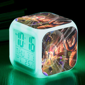 Dragon Ball LED Colorful Alarm Clock