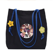 Load image into Gallery viewer, Fashion BTS Kpop Star Canvas Hand Bag