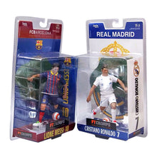 Load image into Gallery viewer, Football Star Barcelona Real Madrid Ronaldo Messi Ornaments Doll