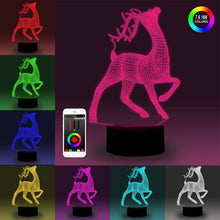 Load image into Gallery viewer, 3D LED Colorful NBA Team Logo Table Lamp