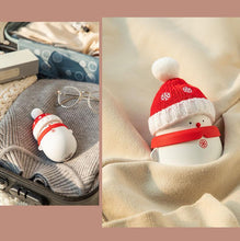 Load image into Gallery viewer, Christmas Snowman Portable Hand Warmer Power Bank