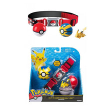 Load image into Gallery viewer, Poké Ball Clip and Carry Adjustable Belt with 2 inch Figure