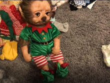 Load image into Gallery viewer, Reborn Baby Grinch Doll Green Hair Cartoon Monster Doll for Halloween & Christmas