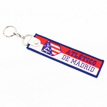 Load image into Gallery viewer, Football Team Keychain Fabric Keychain
