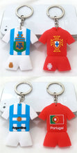 Load image into Gallery viewer, Football Fan Souvenirs Football Jersey Keychain