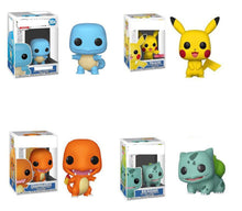 Load image into Gallery viewer, POP Pikachu Bulbasaur Charmander Doll Collection Model Toys