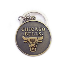 Load image into Gallery viewer, NBA Basketball Team Keychain Retro Keychain