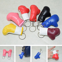 Load image into Gallery viewer, 7.5CM Mini Cute Glove Keychain Fashion Simulation Leather Glove Pendant